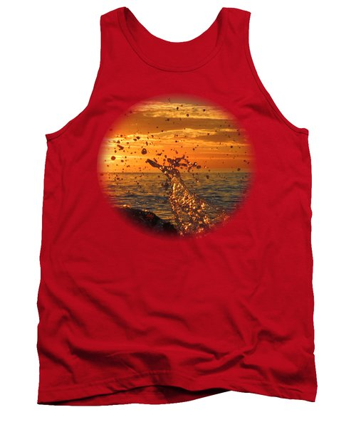 Ocean Splash Tank Top