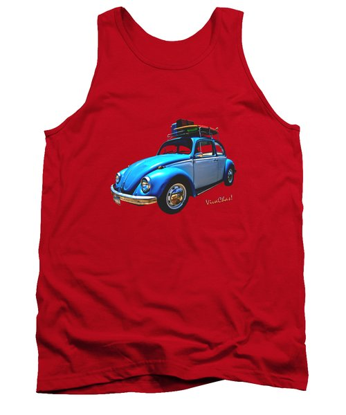 Classic Surf Rod Tank Top