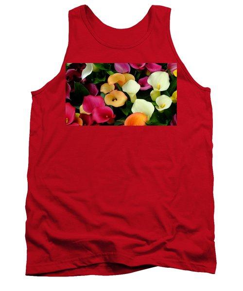 Arum Lilies Tank Top
