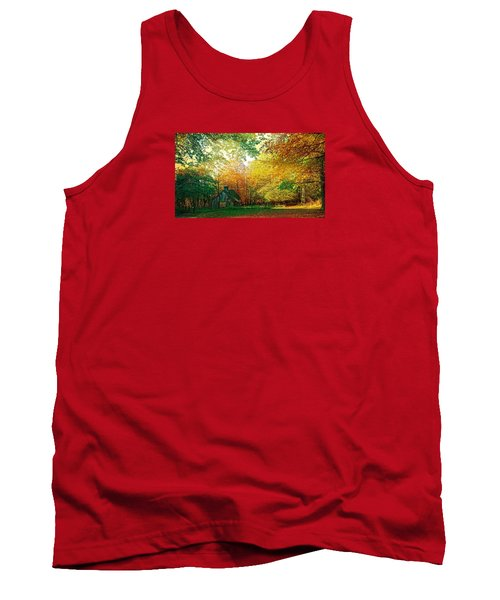Ashridge Autumn Tank Top