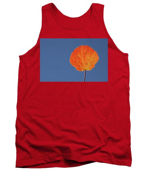 Aspen Leaf 1 Tank Top by Marie Leslie