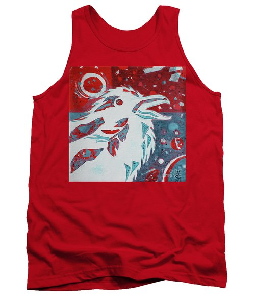 Tank Top featuring the painting Assertion by Cynthia Lagoudakis
