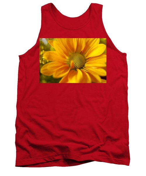 Aster Close Up Tank Top by Andrew Soundarajan