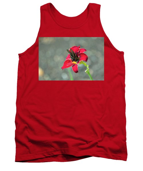 At One With The Orchid 2 Tank Top