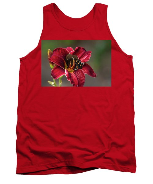 At One With The Orchid Tank Top
