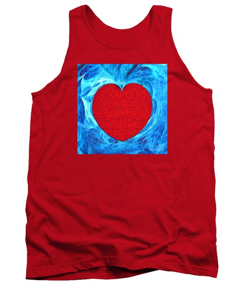 At The Heart Of The Matter Tank Top by Merton Allen