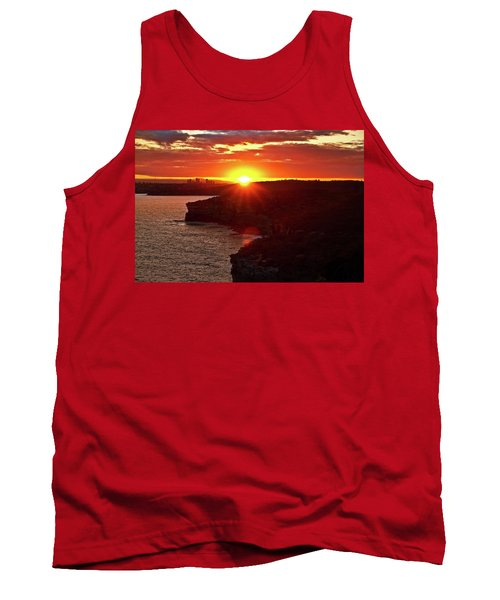 August Sunset From North Head Tank Top