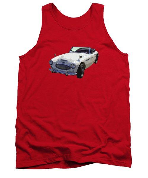 Austin Healey 300 Classic Convertible Sportscar  Tank Top