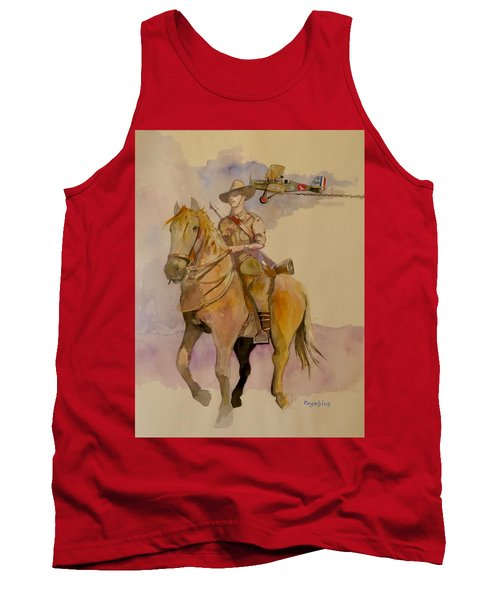Australian Light Horse Regiment. Tank Top by Ray Agius