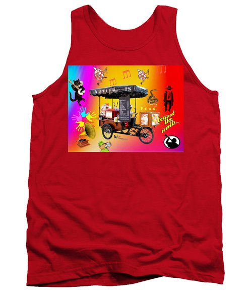 Autism Is Fear Tank Top