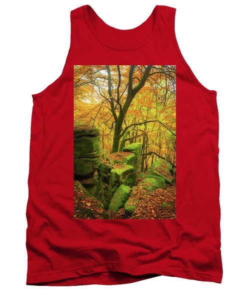 Automnal Glow Tank Top