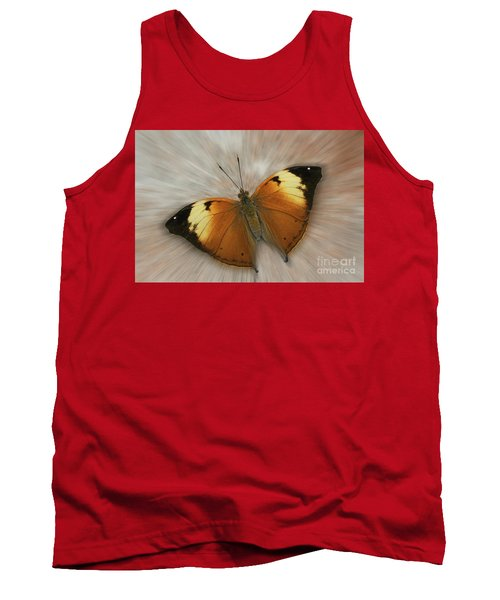 Autumn Leaf Butterfly Zoom Tank Top