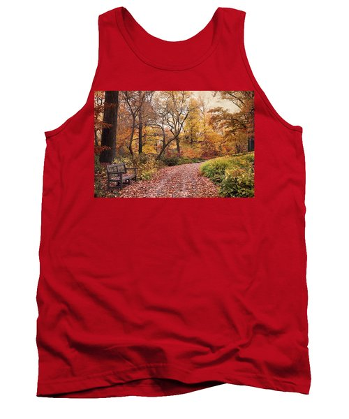 Autumn Azalea Garden Tank Top