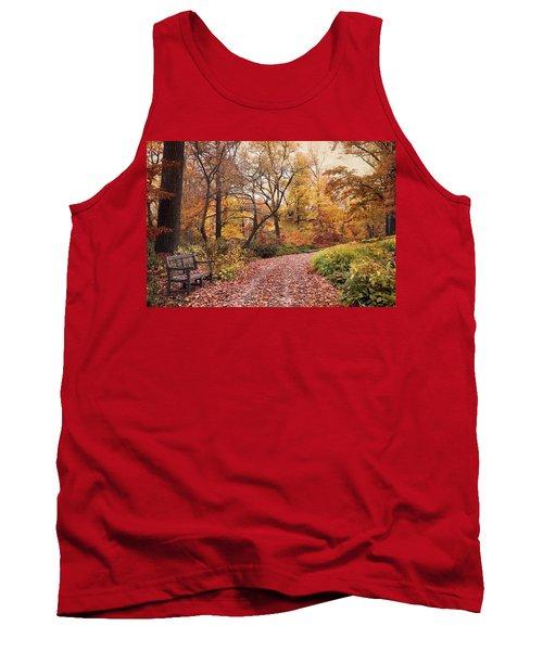 Autumn Azalea Garden Tank Top