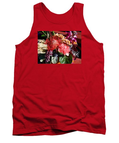 Tank Top featuring the photograph Autumn Bouquet by Sharon Duguay