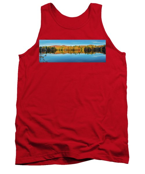Autumn By The Lake Tank Top
