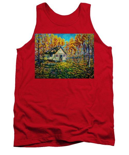 Autumn Cabin Trip Tank Top