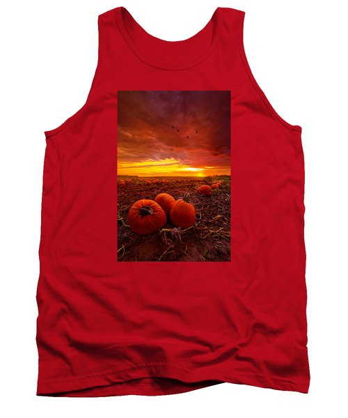 Autumn Falls Tank Top by Phil Koch