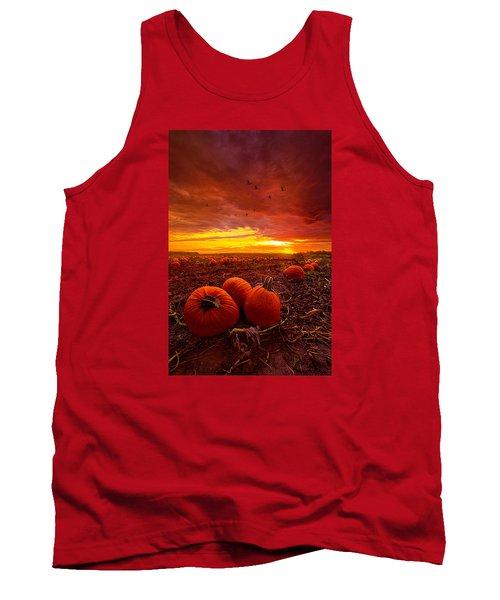 Autumn Falls Tank Top