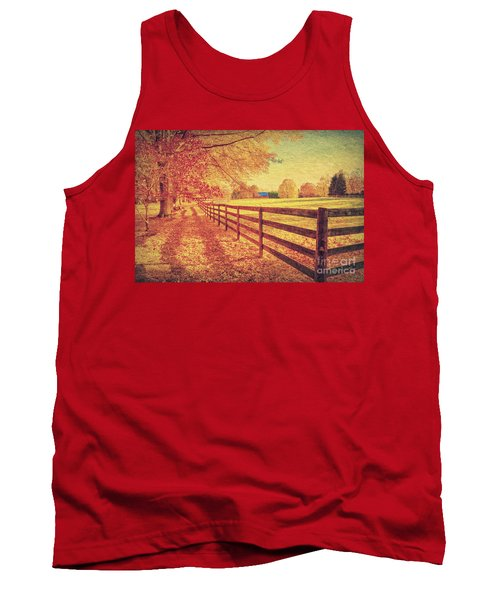 Autumn Fences Tank Top