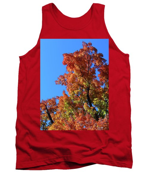 Autumn Foliage Tank Top