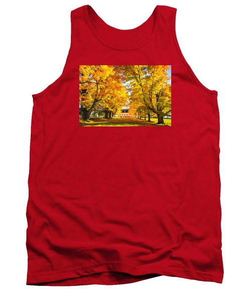 Tank Top featuring the photograph Autumn Gold IIi by Robert Clifford