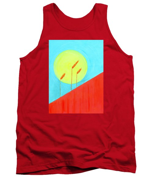 Tank Top featuring the painting Autumn Harvest by J R Seymour