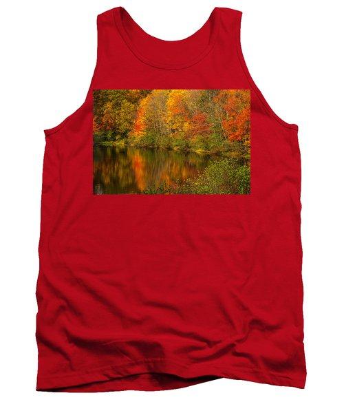 Autumn In Monroe Tank Top by Karol Livote