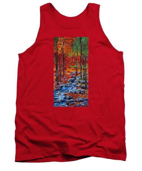 Autumn In The Air 2 Tank Top by Mike Caitham
