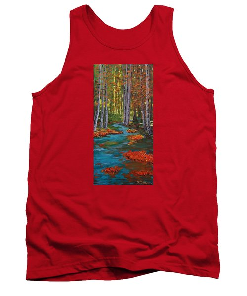Autumn In The Air Tank Top by Mike Caitham