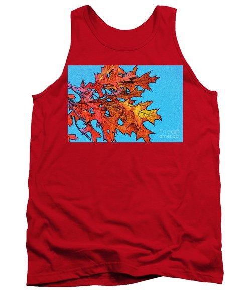 Autumn Leaves 14 Tank Top