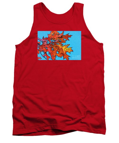 Autumn Leaves 14 Tank Top