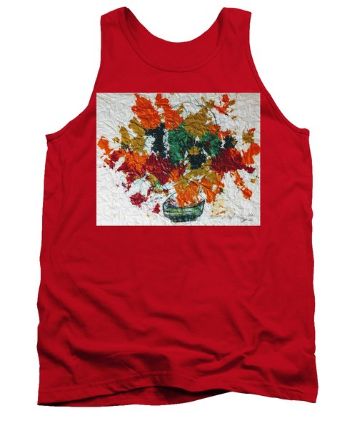 Autumn Leaves Plant Tank Top