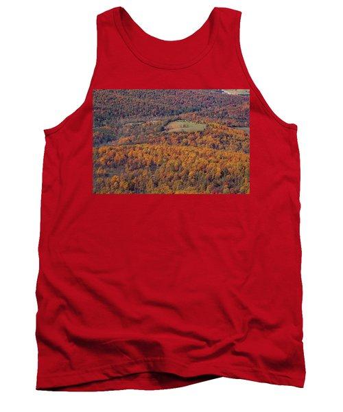 Autumn Mountain Side Tank Top