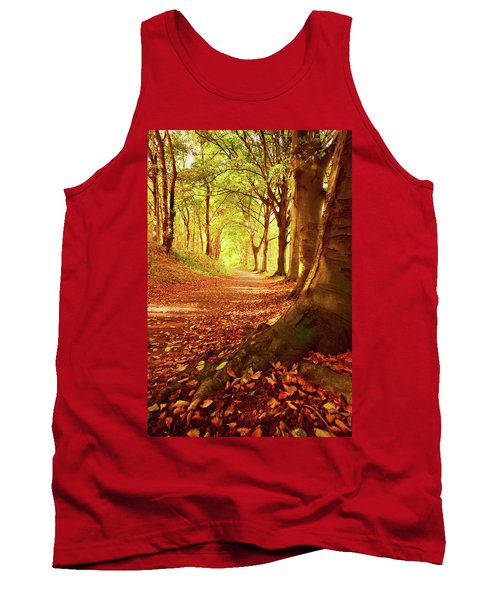 Autumn Path Tank Top