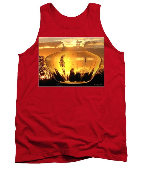 Tank Top featuring the photograph Autumn Spirits by Joyce Dickens