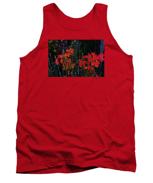 Tank Top featuring the photograph Autumn by Steven Clipperton