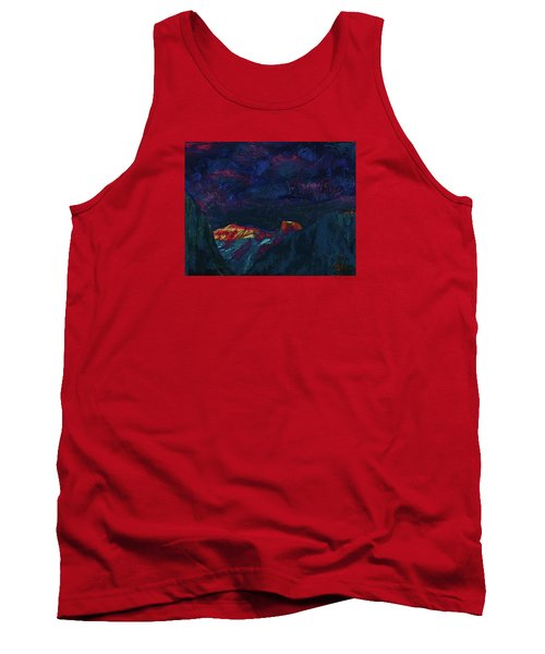 Autumn Sunset Over Half Dome 2013 B Tank Top
