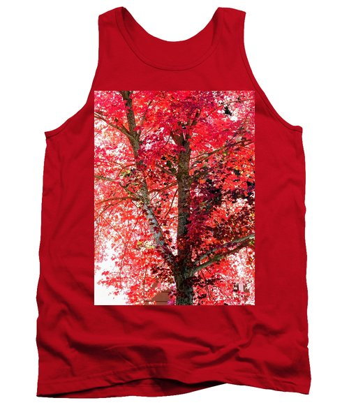 Autumn Tree Tank Top by Michael Dohnalek