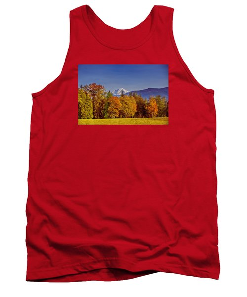 Autumn View Of Mt. Baker Tank Top