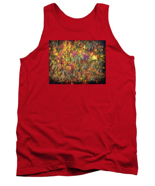 Autumnal Leaves Tank Top