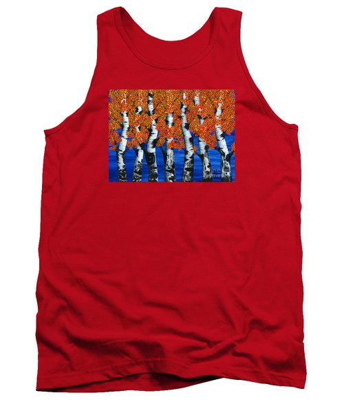 Autumns Farewell Party Tank Top