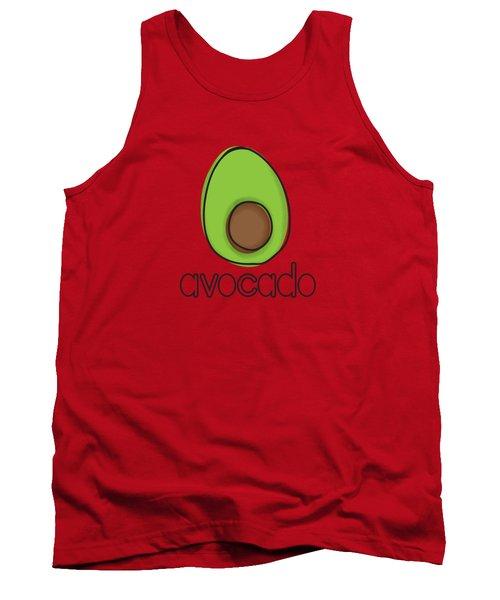 Avocado Tank Top by Monette Pangan