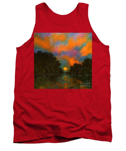 Awaken The Dream Tank Top by Alison Caltrider