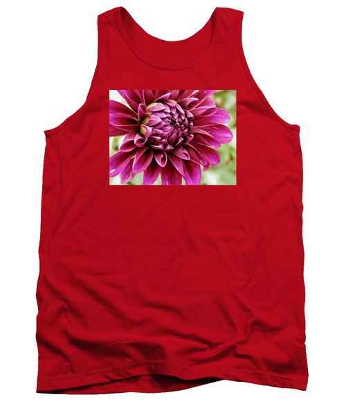 Awesome Dahlia Tank Top by VLee Watson