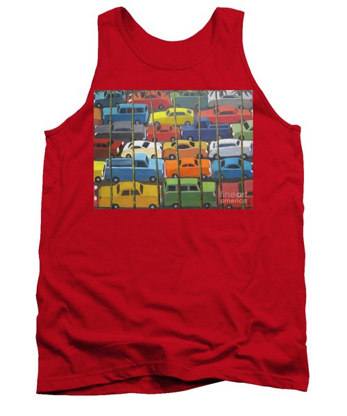 Back And Forth Tank Top by Glenn Quist