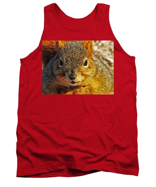 Backyard Squirrel Tank Top