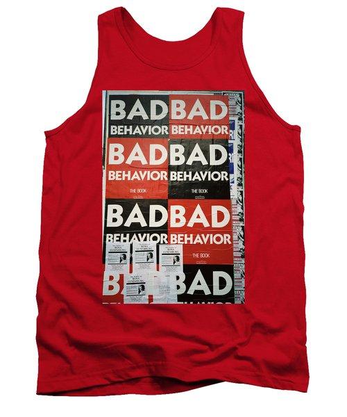 Bad Behavior Tank Top