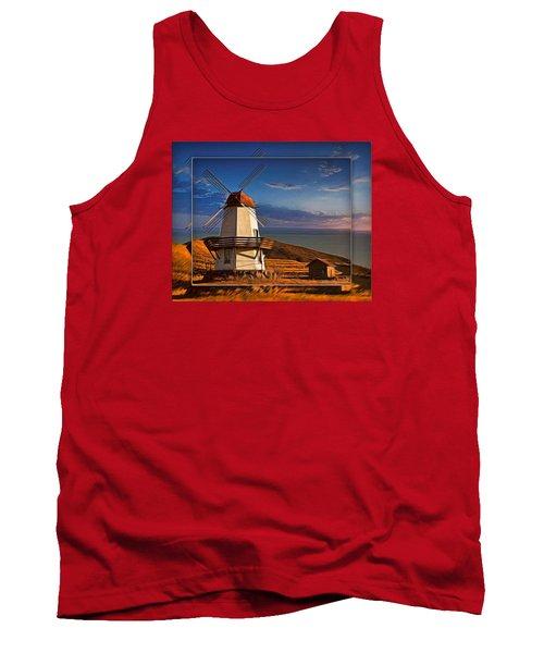 Baker City Windmill_1a Tank Top