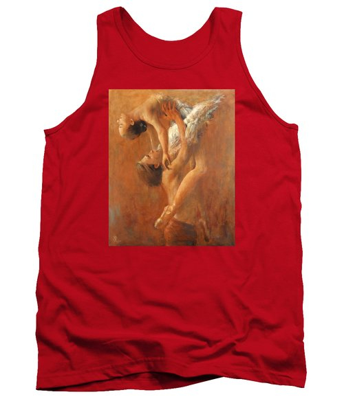 Balance In The Couple. Dance Painting .ballet.  Tank Top